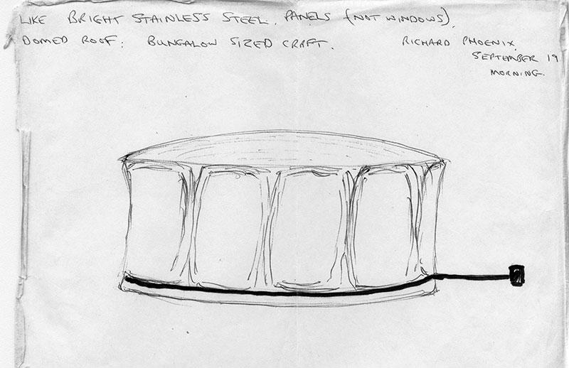 Richard Phoenix UFO drawing