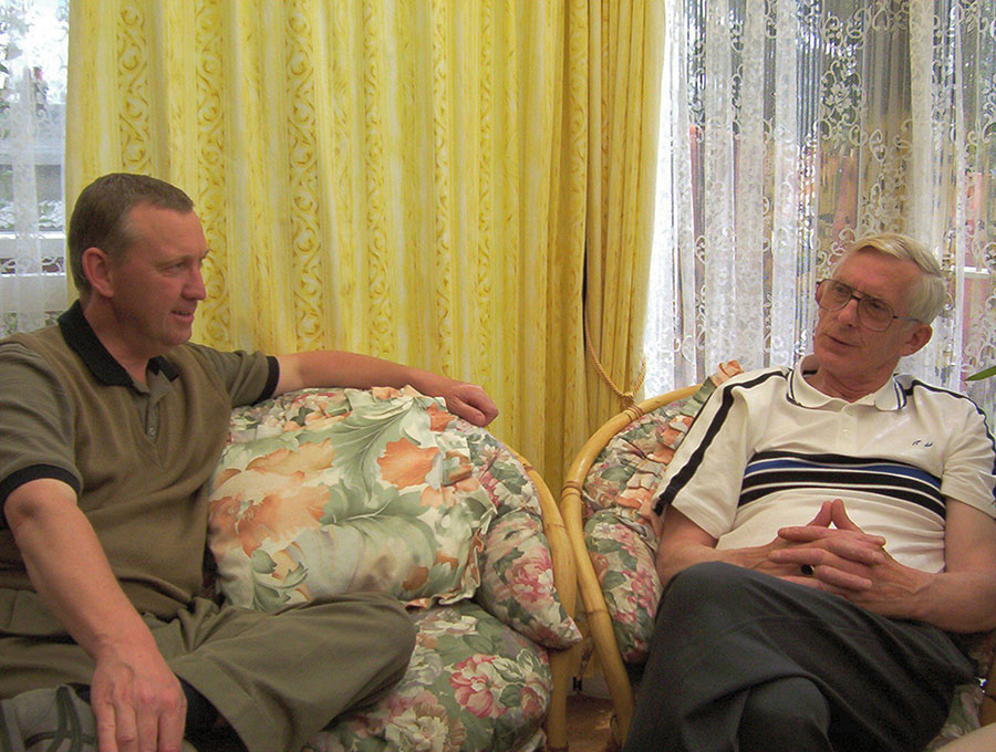 Tony Dodd and Robert Hulse