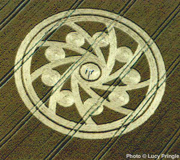 Woodborough Hill Crop Circle